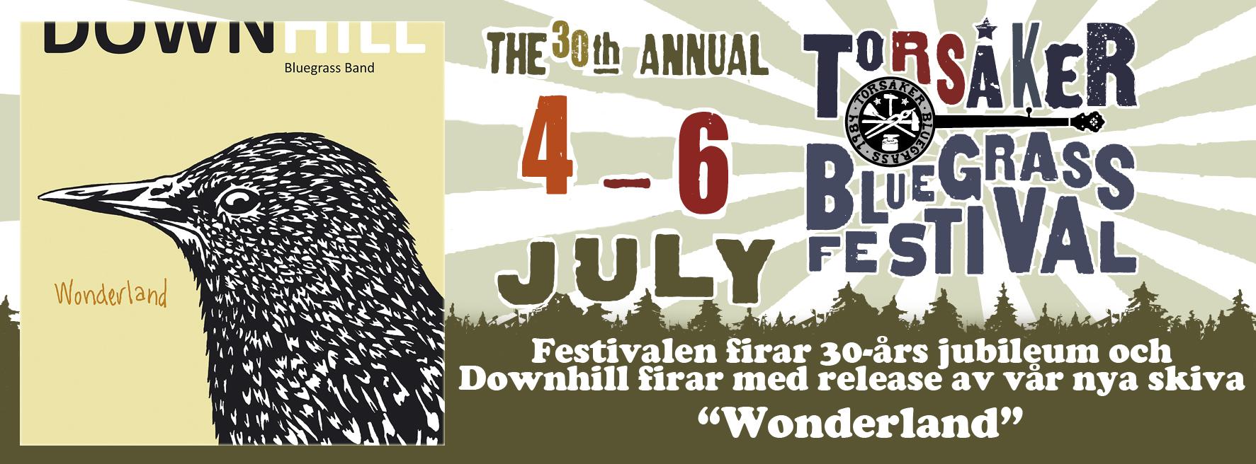 Skivreleasefestival på Torsåker Bluegrass Festival!