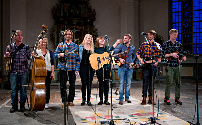 Midwinter concert together with Good Harvest  in Torsåker Kyrka