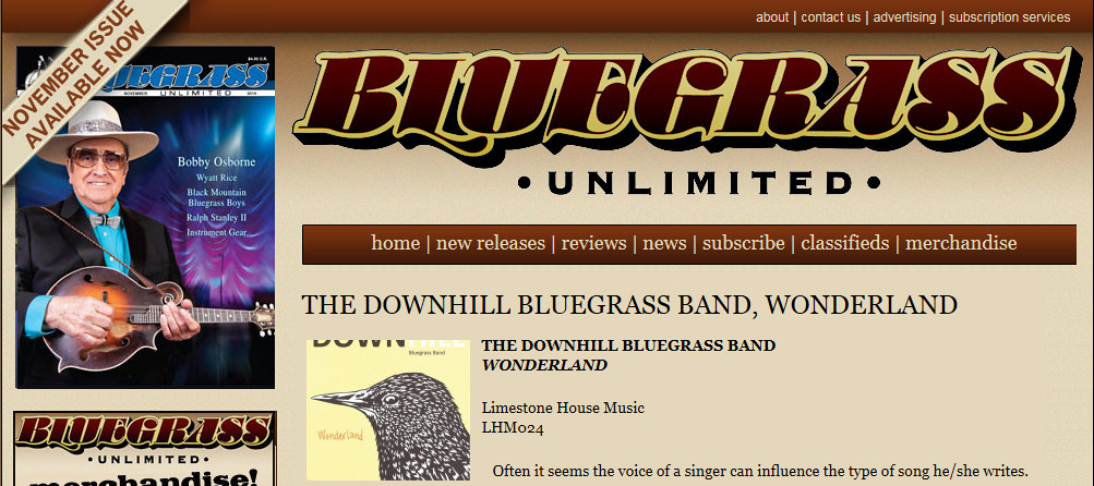 Review from Bluegrass Unlimited