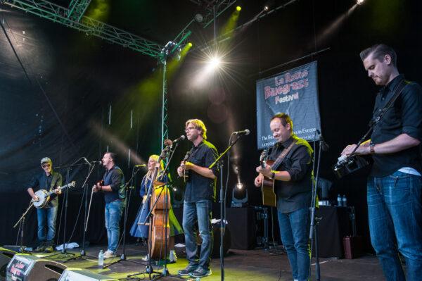 Downhill Bluegrass Band at La Roche Bluegrass Festival