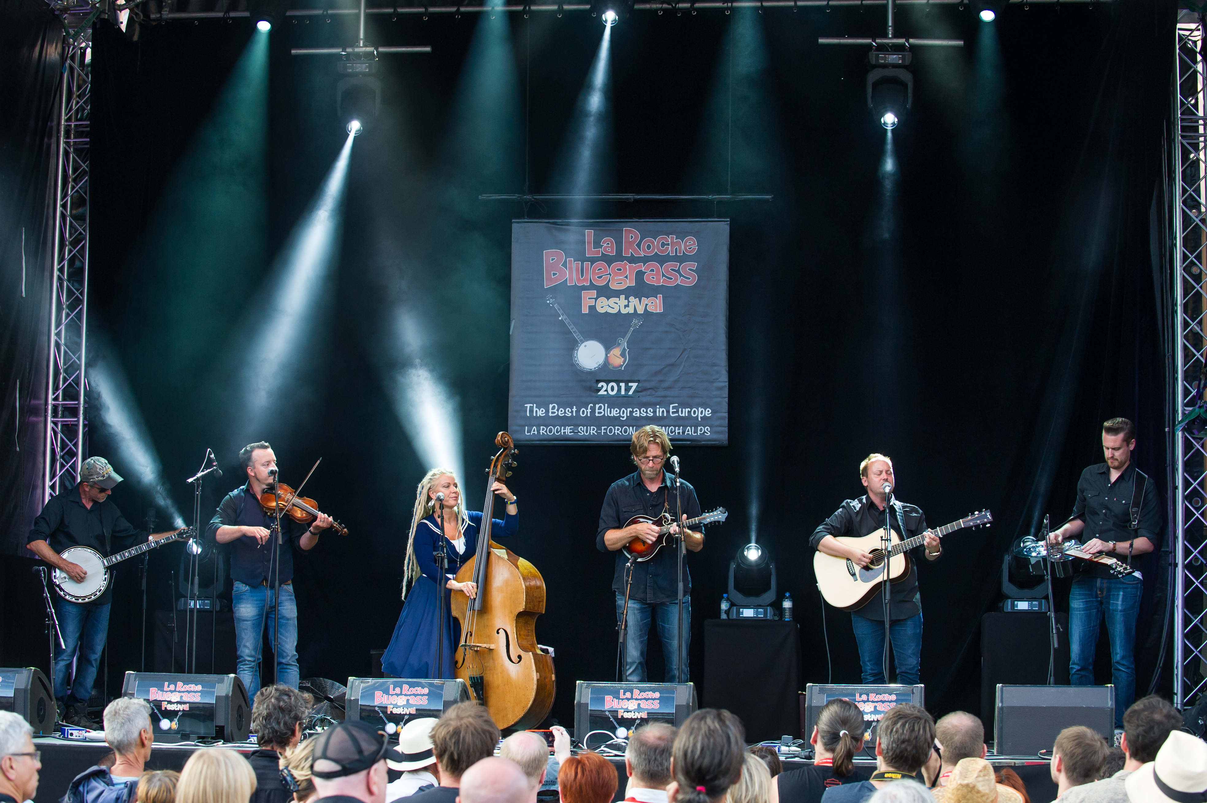 Downhill Bluegrass Band La Roche Bluegrass Festival 2017