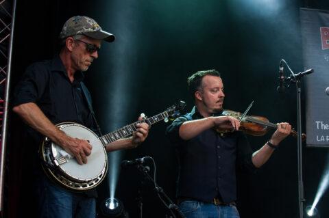 Jimmy Sunnebrandt Kenneth Kjellgren La Roche Bluegrass Festival