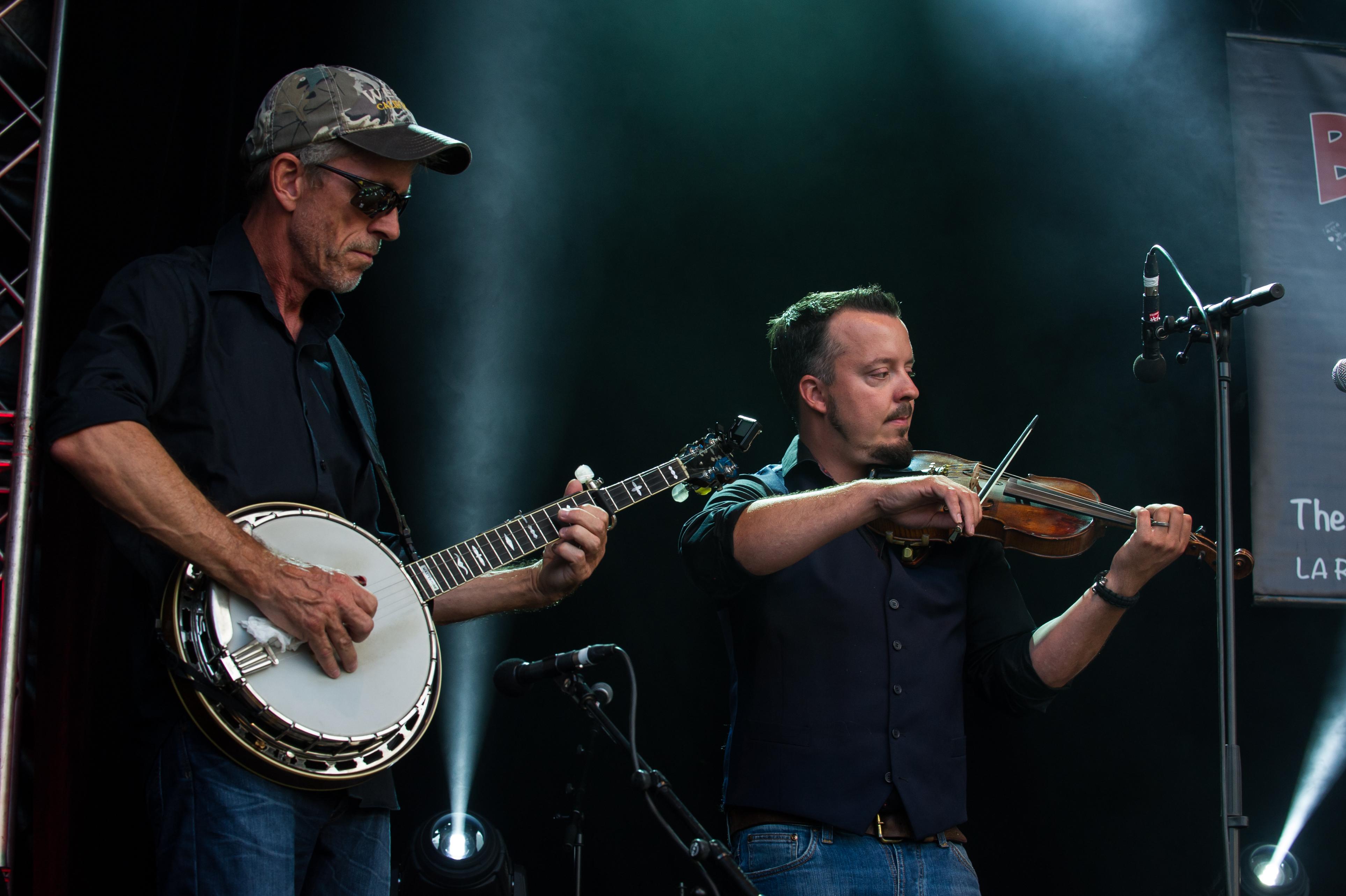 Jimmy Sunnebrandt och Kenneth Kjellgren