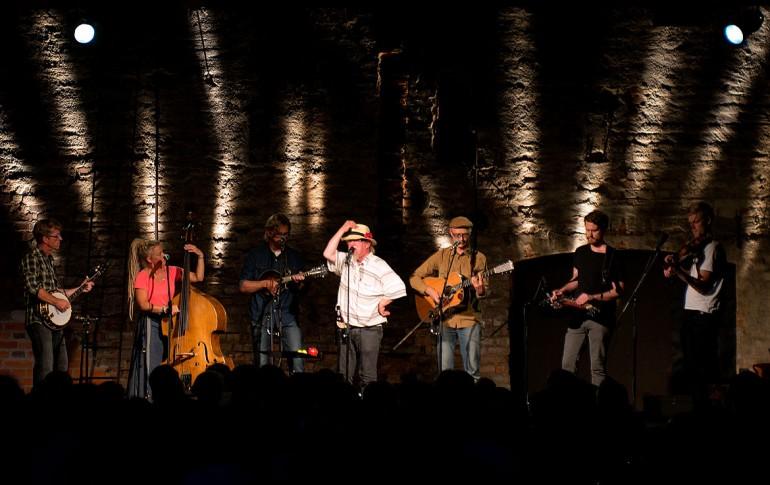 Pelle Lindström och Downhill Bluegrass Band Smedjan Stjärnsund