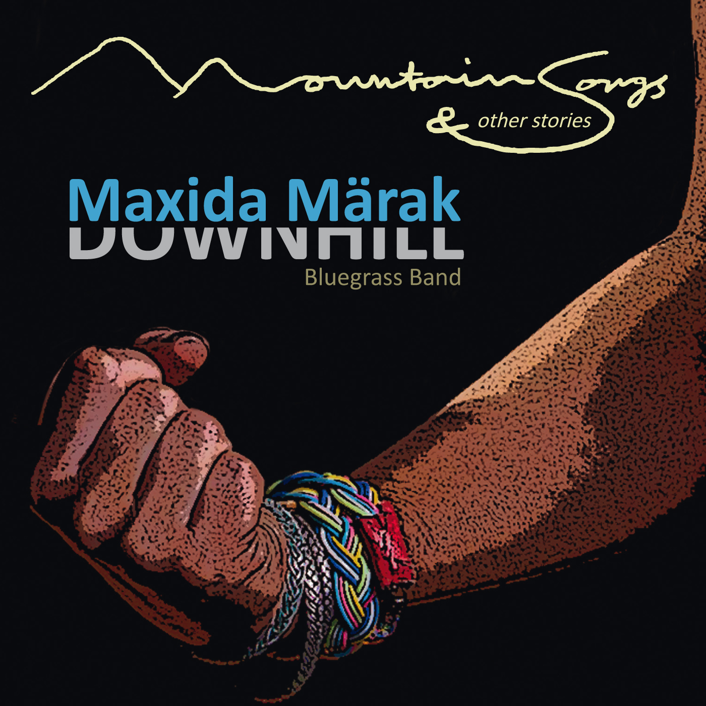 """Maxida Märak & Downhill Bluegrass Band """"Mountain Songs and other Stories"""""""