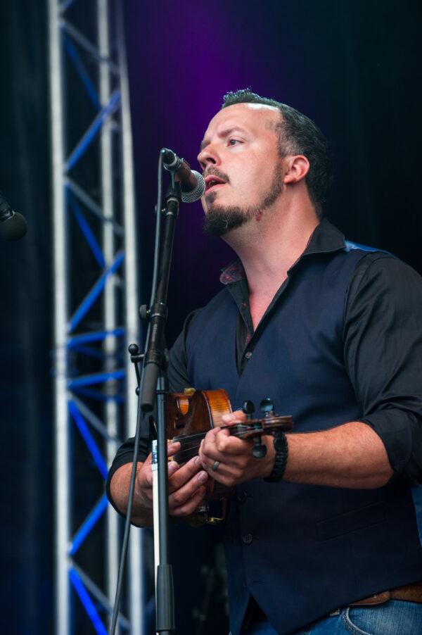 Jimmy Sunnebrandt La Roche Bluegrass Festival